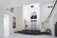 Luxury mansion entrance Stock Image
