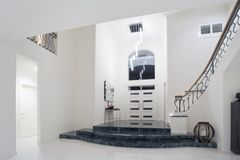 Luxury mansion entrance royalty free stock image