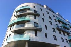 Luxury marina living. Luxury marina apartments Stock Images