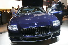 Luxury maserati car Royalty Free Stock Photo