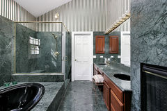 Luxury master bath Stock Photo