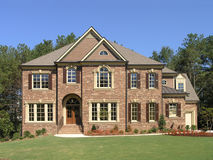 Luxury McMansion 1 Royalty Free Stock Image