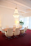 Luxury meeting room Stock Photos