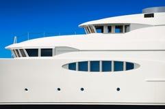 Luxury mega yacht Royalty Free Stock Photos