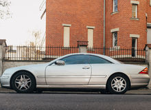 Luxury Mercedes Benz CL coupe luxury Royalty Free Stock Photos