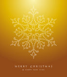 Luxury Merry Christmas snowflake background EPS10 vector file. Stock Images