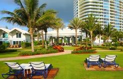 Luxury Miami Resort Royalty Free Stock Images