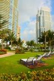 Luxury Miami Resort Stock Image