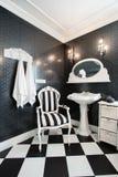 Luxury moden bathroom Royalty Free Stock Image