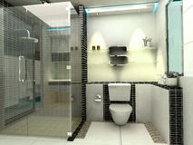 Luxury modern bathroom Royalty Free Stock Photos