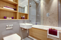 Luxury modern bathroom Royalty Free Stock Photography