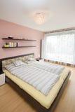 Luxury modern bedroom Stock Photos