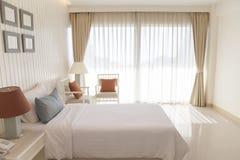 Luxury modern bedroom Royalty Free Stock Images