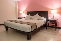 Luxury modern bedroom Stock Photo