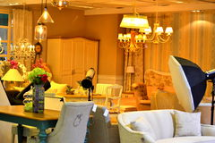 Luxury modern furniture Stock Photos