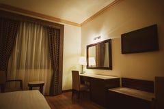 Luxury modern hotel bedroom Stock Photo