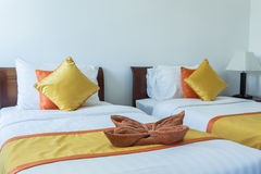 Luxury modern hotel room, Phuket, Thailand. Royalty Free Stock Image