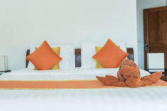 Luxury modern hotel room, Phuket, Thailand. Royalty Free Stock Photo