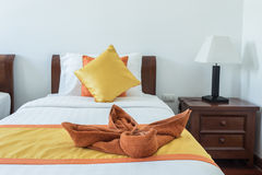 Luxury modern hotel room, Phuket, Thailand. Stock Image