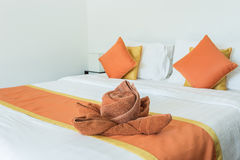 Luxury modern hotel room, Phuket, Thailand. Royalty Free Stock Photography