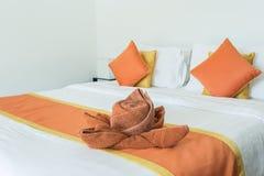 Luxury modern hotel room, Phuket, Thailand. Royalty Free Stock Photography
