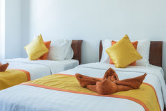 Luxury modern hotel room, Phuket, Thailand. Royalty Free Stock Images