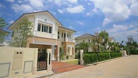 Luxury modern houses royalty free stock photo