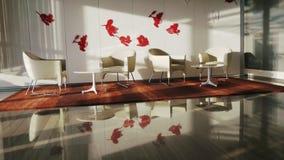 Luxury Modern Interior stock video footage