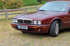 Luxury modern jaguar car Royalty Free Stock Photos