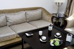 Luxury modern living room Stock Photography