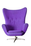 Luxury Modern Purple Chair Stock Images