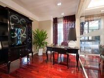 Luxury modern study room Royalty Free Stock Photo
