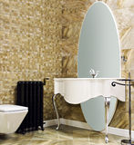 Luxury modern style decorated toilet Royalty Free Stock Photography