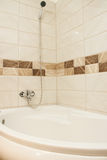 Luxury modern style interior bathroom. Royalty Free Stock Photography