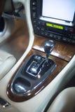 Luxury sports car interior Stock Photos