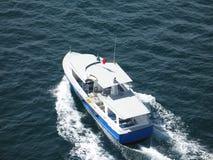 Luxury motor boat Stock Image