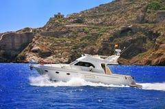 Luxury Motor Cruiser Stock Photography