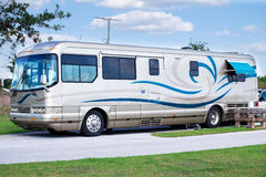 Luxury Motor Home Royalty Free Stock Images