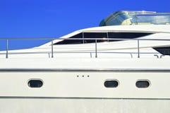 Luxury motor yacht Royalty Free Stock Image