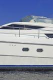 Luxury motor yacht Royalty Free Stock Photography