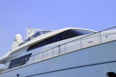 Luxury motor yacht Royalty Free Stock Photos
