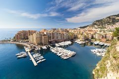 Monaco French Riviera Stock Images