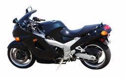 Luxury motorcycle. Isolated on white Royalty Free Stock Photography