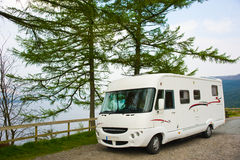 Luxury motorhome. Stock Images