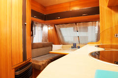 Luxury Motorhome Royalty Free Stock Photography