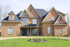 Luxury new homes for sale Stock Photography