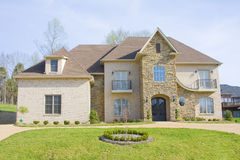 Luxury new homes for sale Stock Photos