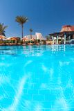 Luxury nice hotel swimming pool in the Egypt Stock Photos
