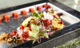 Luxury Nicoise Salad Stock Images