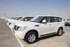 Luxury Nissan SUVs Royalty Free Stock Image